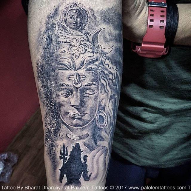 Ancient And Spiritual Shiva Tattoos